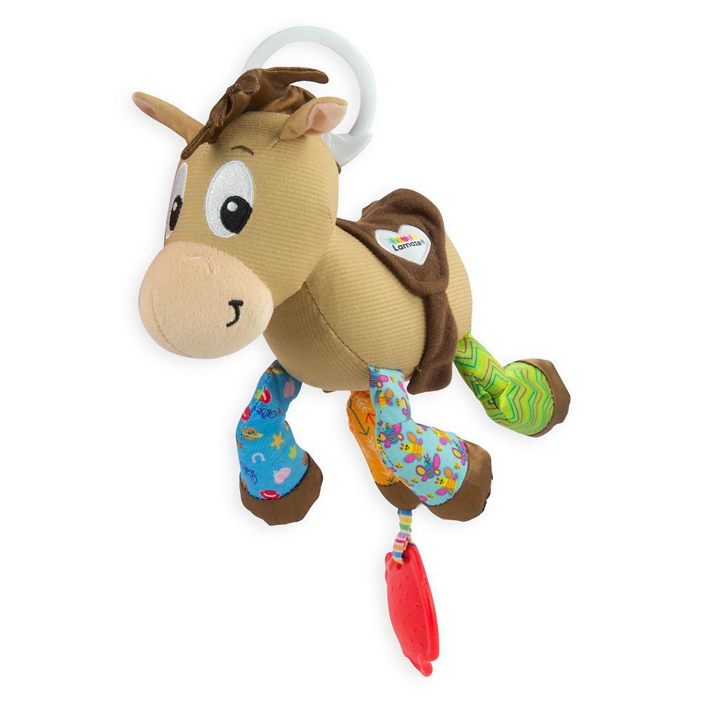 Bullseye Clip & Go Plush for Baby by Lamaze