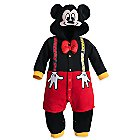 Mickey Mouse Fleece Costume Romper for Baby