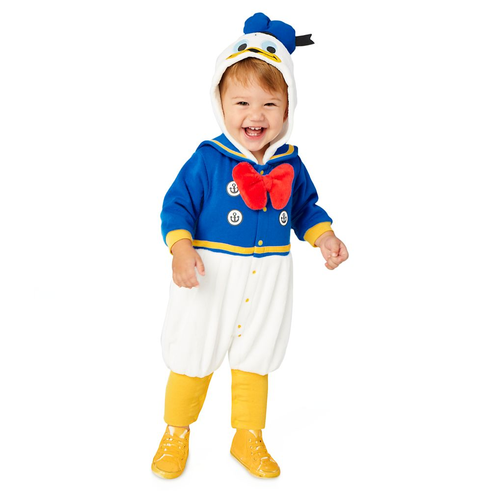 Donald Duck Fleece Costume Romper for Baby
