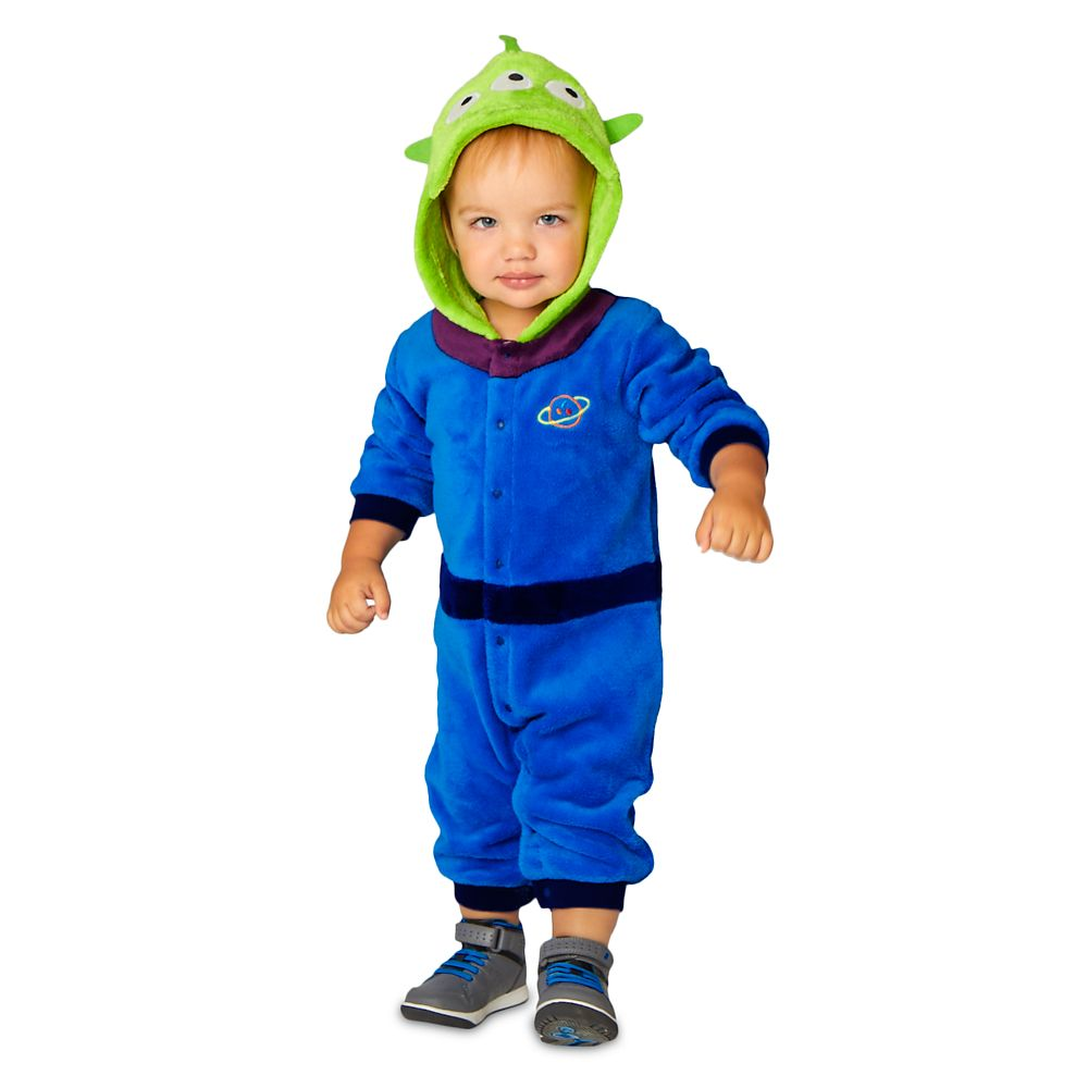 Toy Story Alien Fleece Costume Romper for Baby
