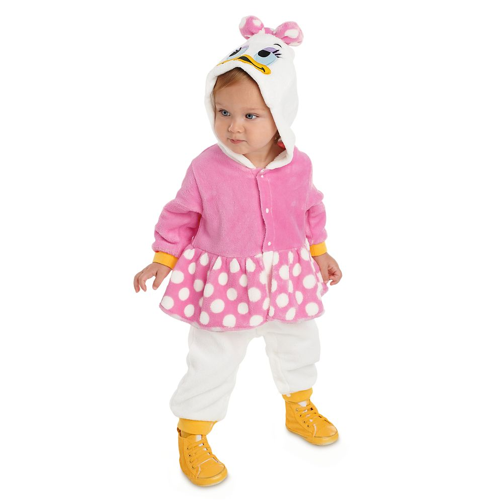 Daisy Duck Fleece Costume Romper for Baby