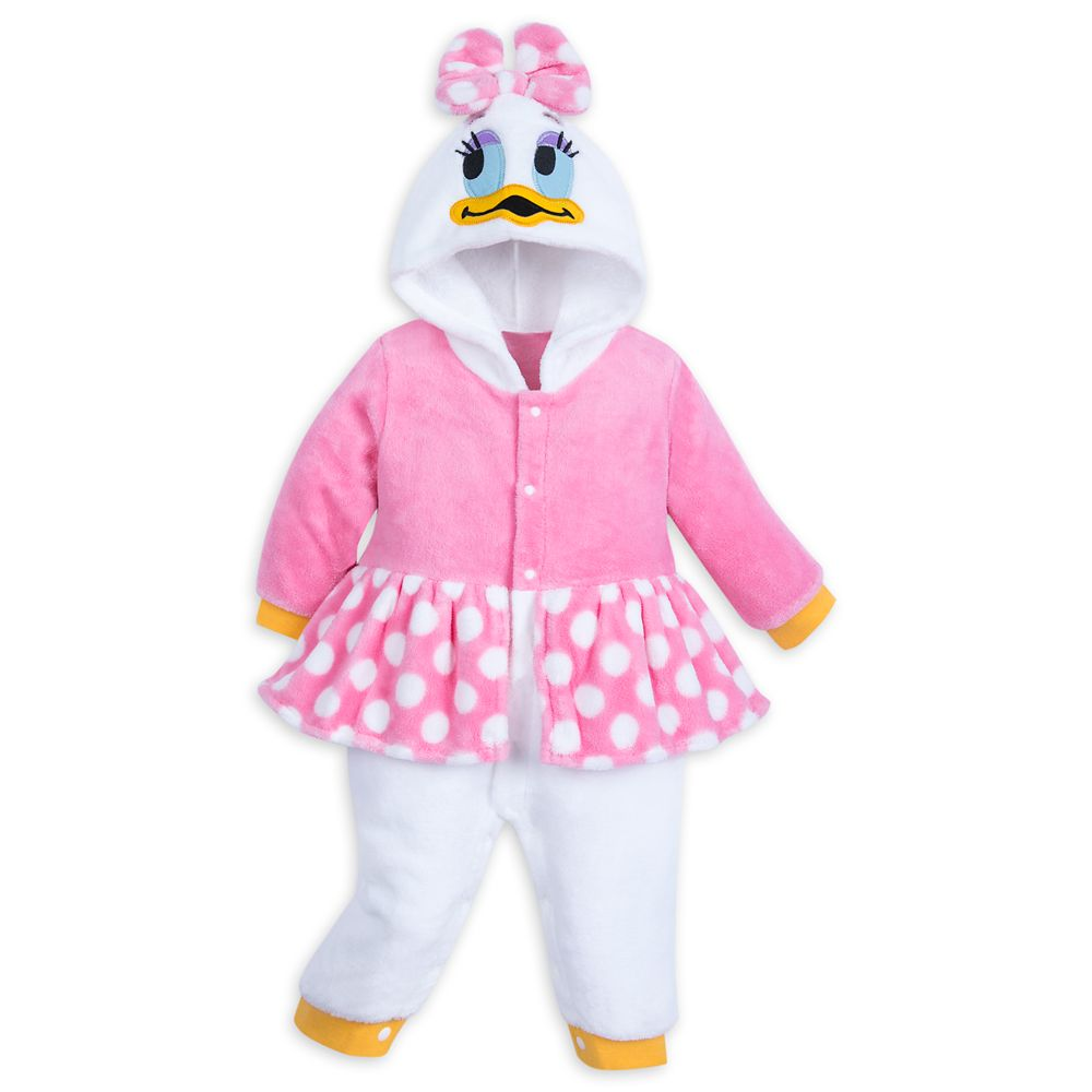 Daisy Duck Fleece Costume Romper for Baby