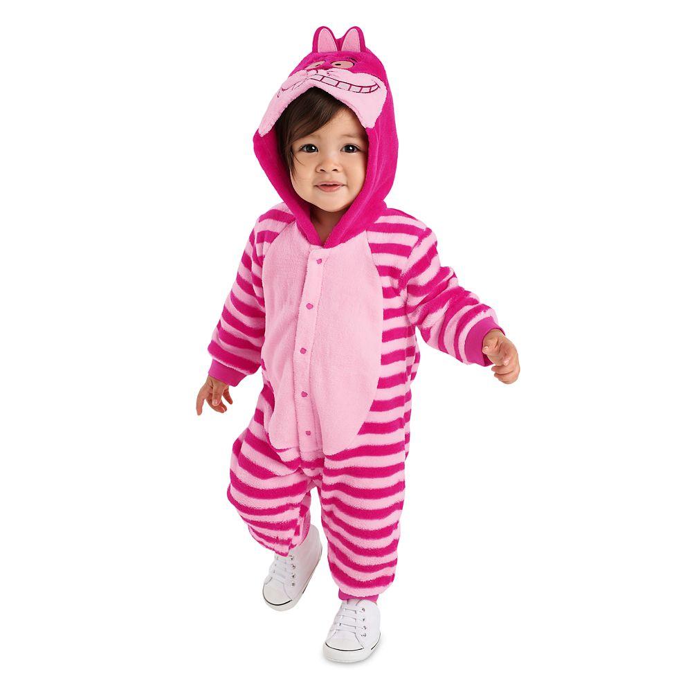 Cheshire Cat Fleece Costume Romper for Baby
