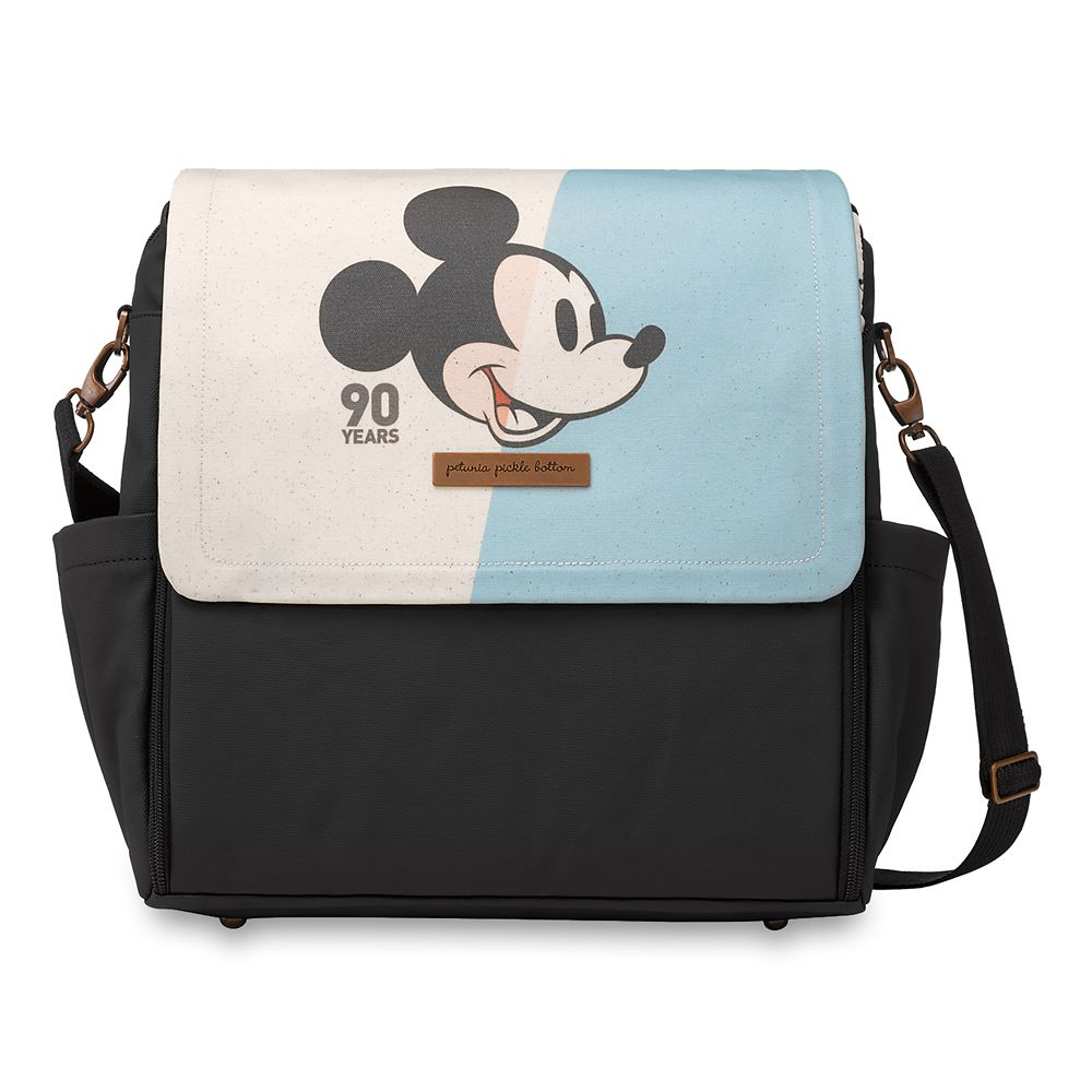 Mickey Mouse Boxy Diaper Backpack by Petunia Pickle Bottom