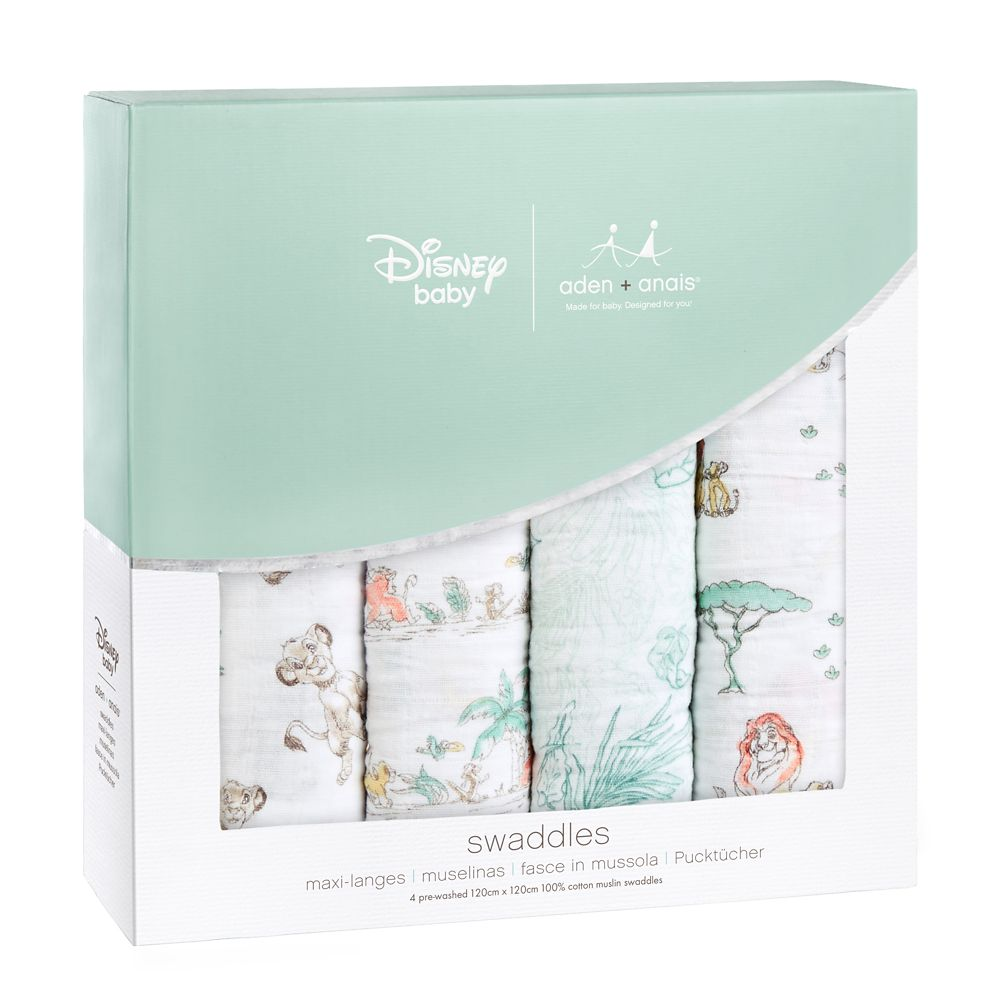 The Lion King Muslin Swaddles Set for Baby by aden + anais®