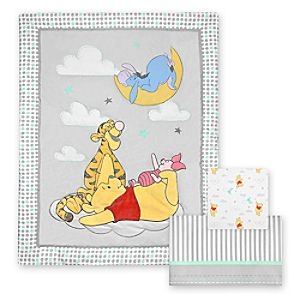 Winnie the Pooh - 3-Piece Crib Bedding Set