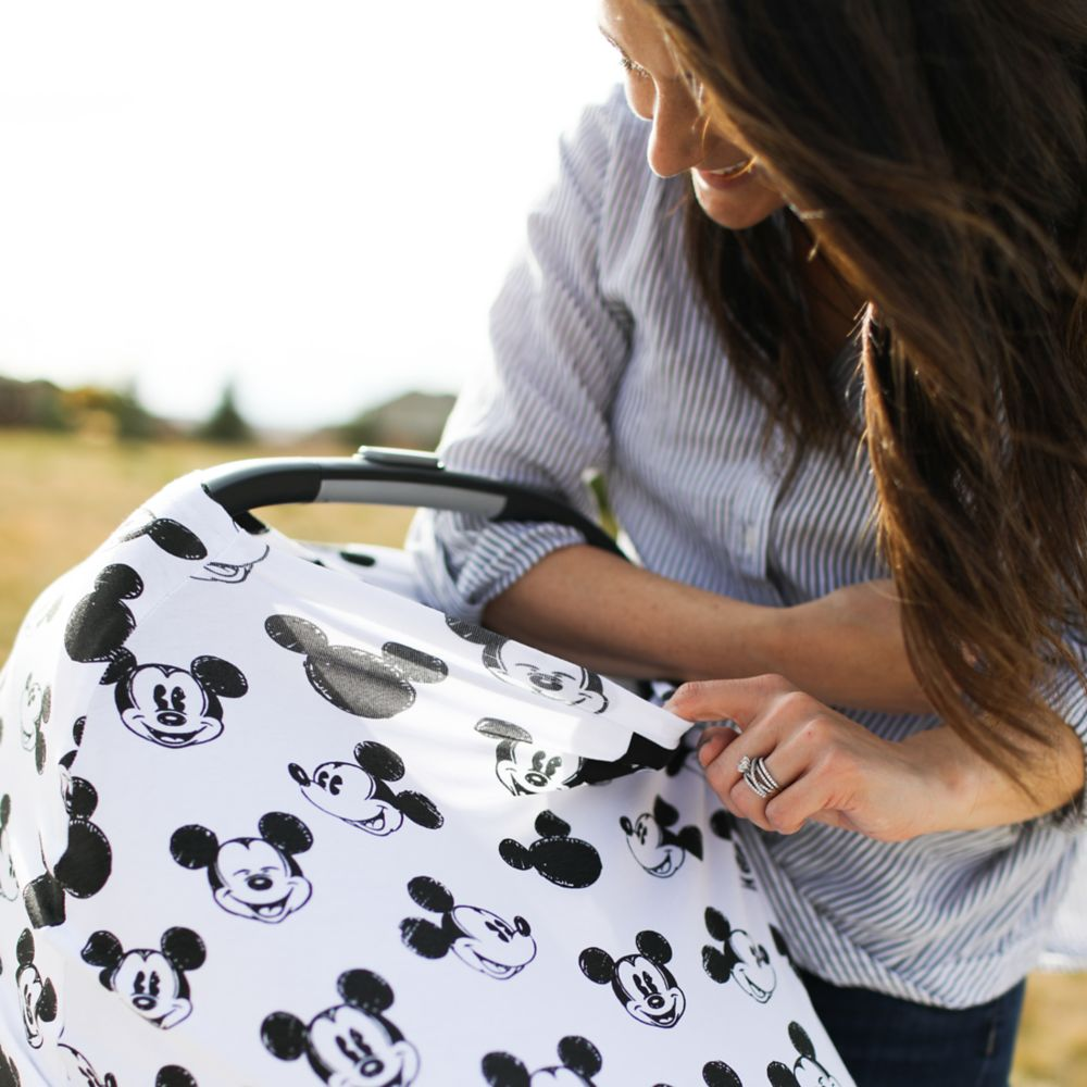 Mickey Mouse Baby Seat Cover by Milk Snob