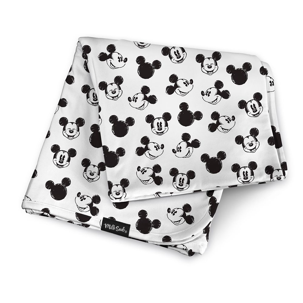 Mickey Mouse Baby Blanket by Milk Snob