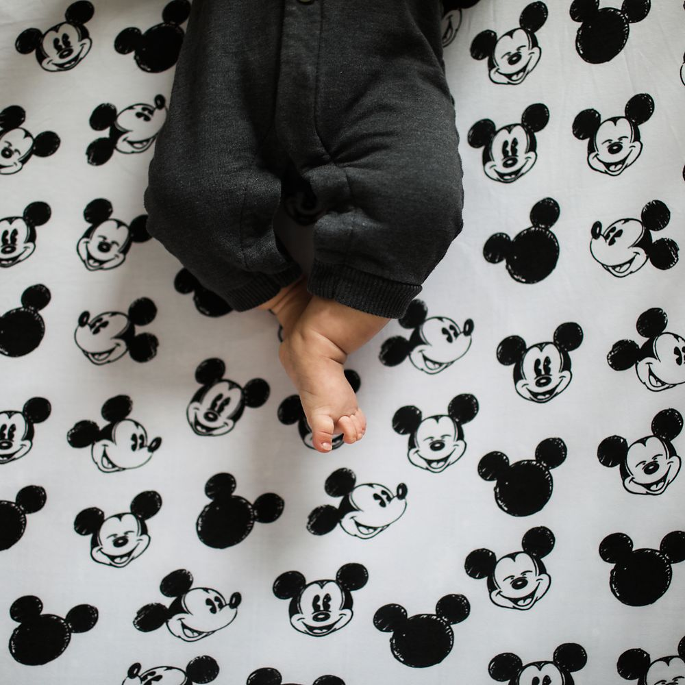 Mickey Mouse Crib Sheet by Milk Snob