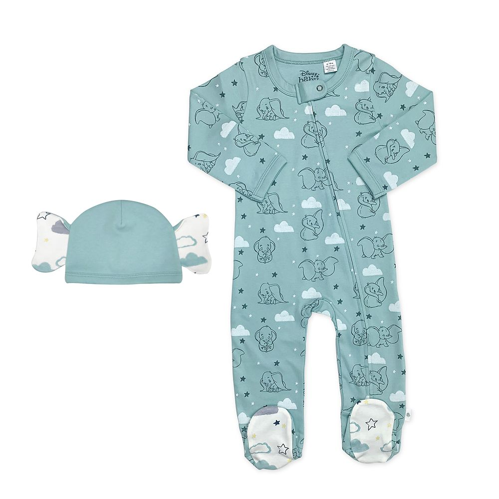 Dumbo Sleeper and Hat Set for Baby by finn + emma