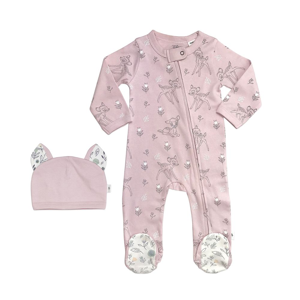 Bambi Sleeper and Hat Set for Baby by finn + emma