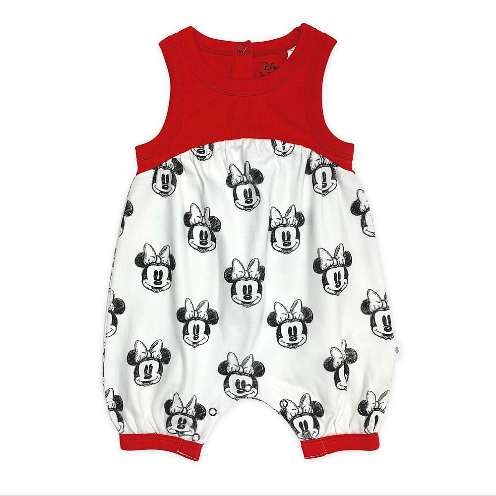 Minnie Mouse Bubble Romper for Baby by finn + emma