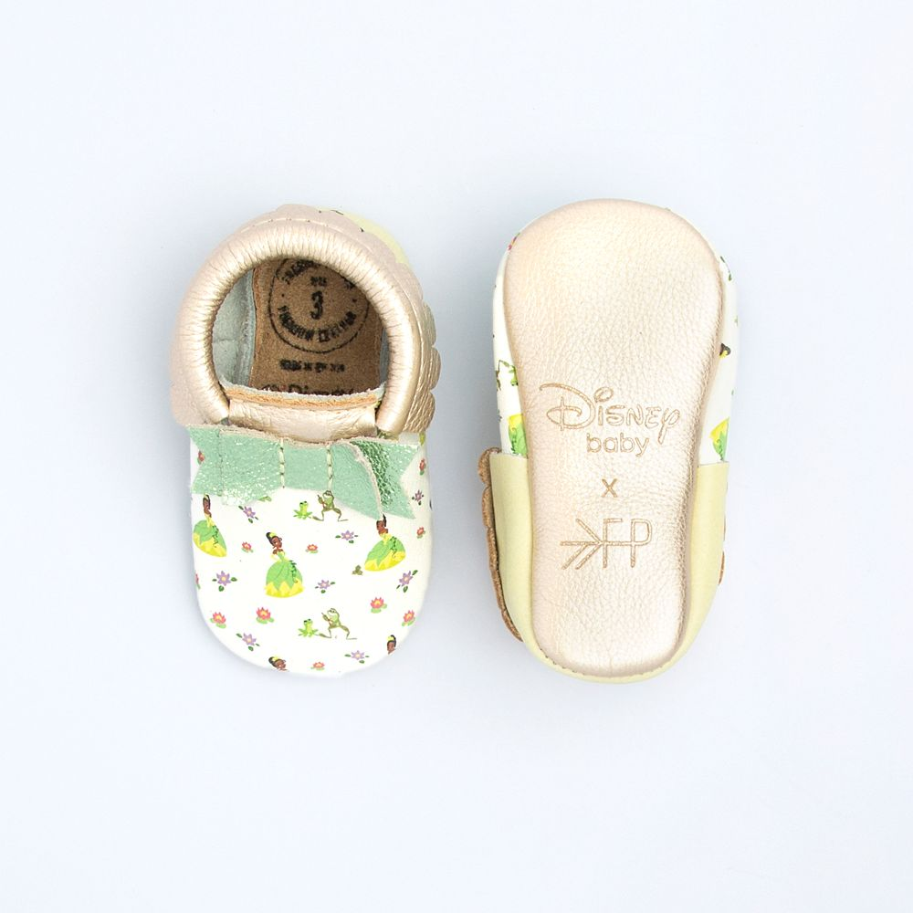 Tiana Moccasins for Baby by Freshly Picked