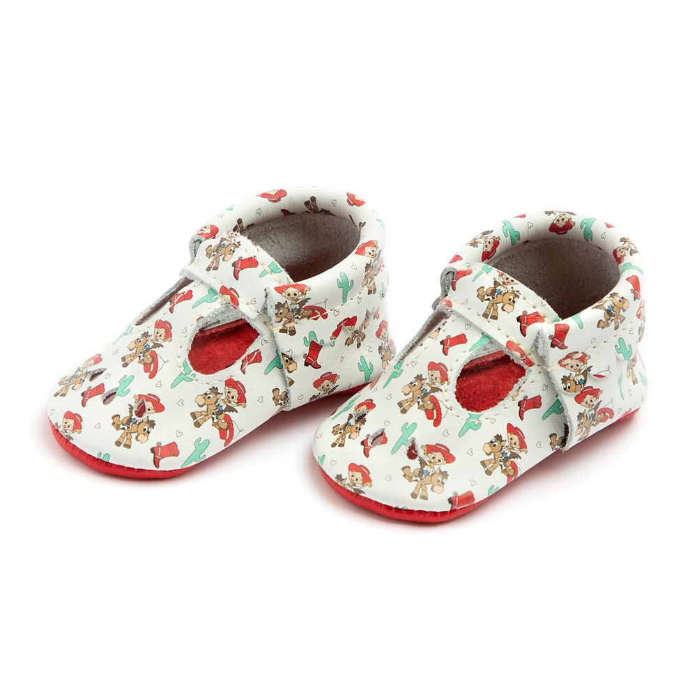 Jessie and Bullseye Mary Jane Moccasins for Baby by Freshly Picked