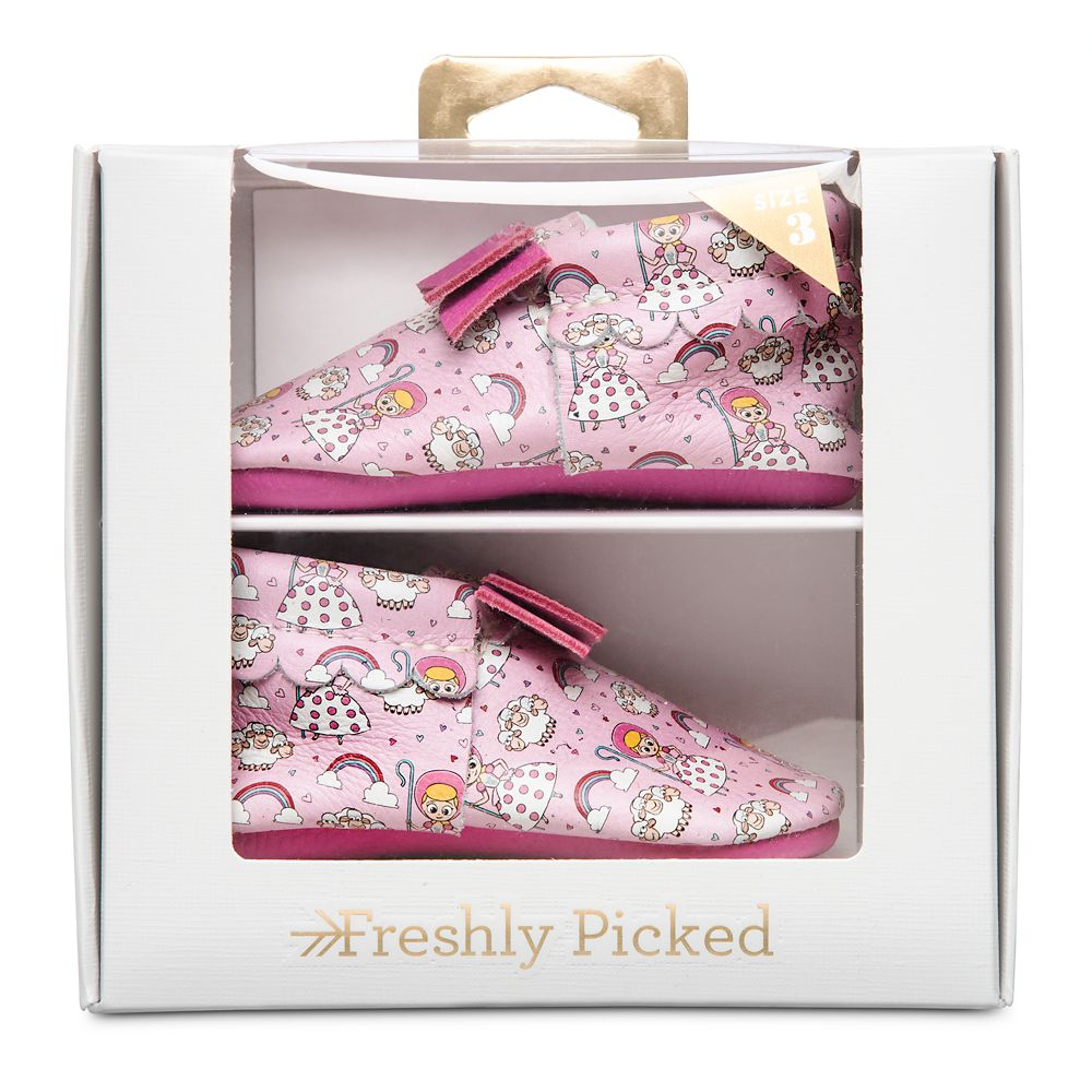 Bo Peep Moccasins for Baby by Freshly Picked