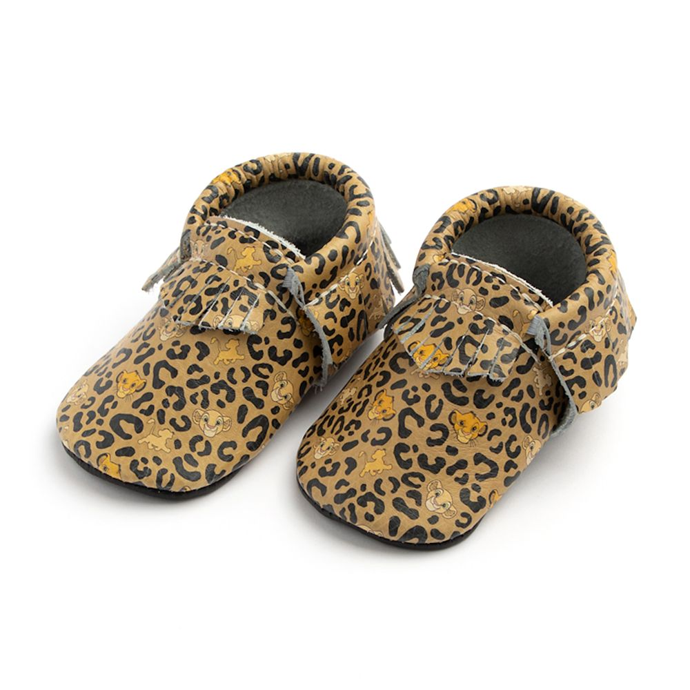 The Lion King Moccasins for Baby by Freshly Picked