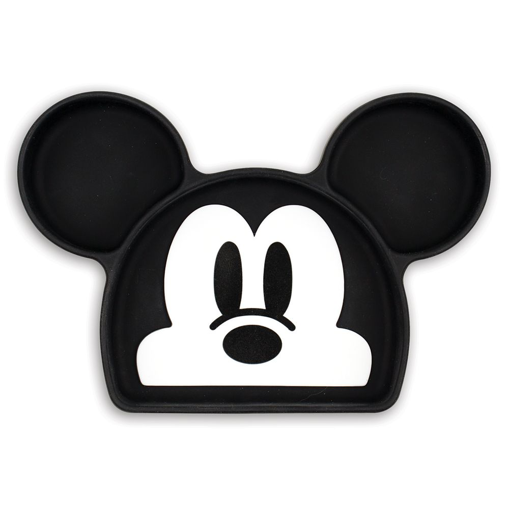 Mickey Mouse Silicone Grip Dish by Bumkins