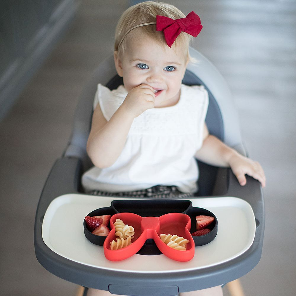 Minnie Mouse Silicone Grip Dish by Bumkins
