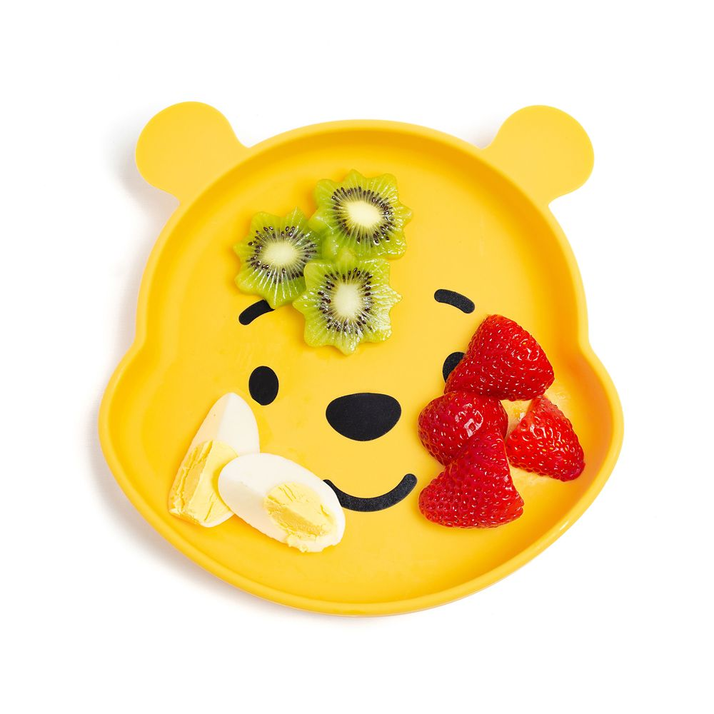 Winnie the Pooh Silicone Grip Dish by Bumkins
