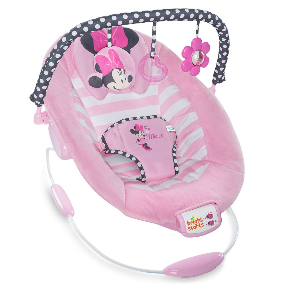 Minnie Mouse Bouncer Seat for Baby by Bright Starts