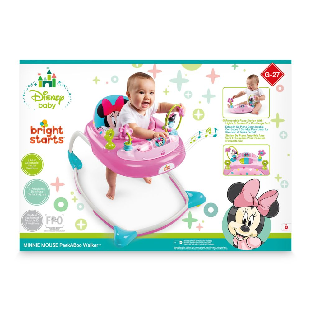 Minnie Mouse PeekABoo Walker for Baby by Bright Starts