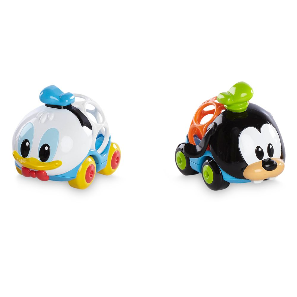 Donald Duck and Goofy Go Grippers Car Set for Baby by Bright Starts Official shopDisney