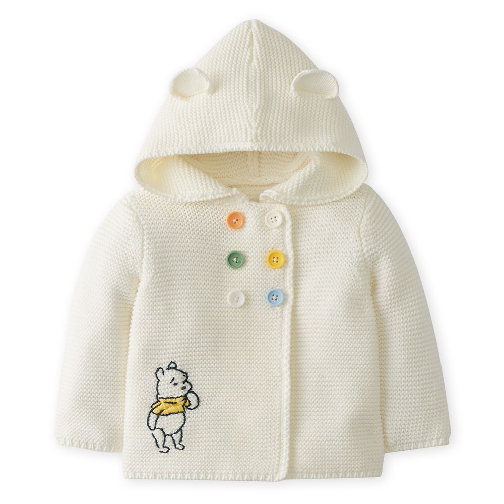 Winnie the Pooh Hooded Sweater for Baby by Hanna Andersson