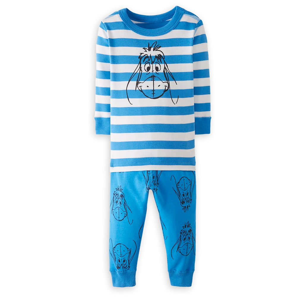 Eeyore Organic Long John Pajama Set for Baby by Hanna Andersson
