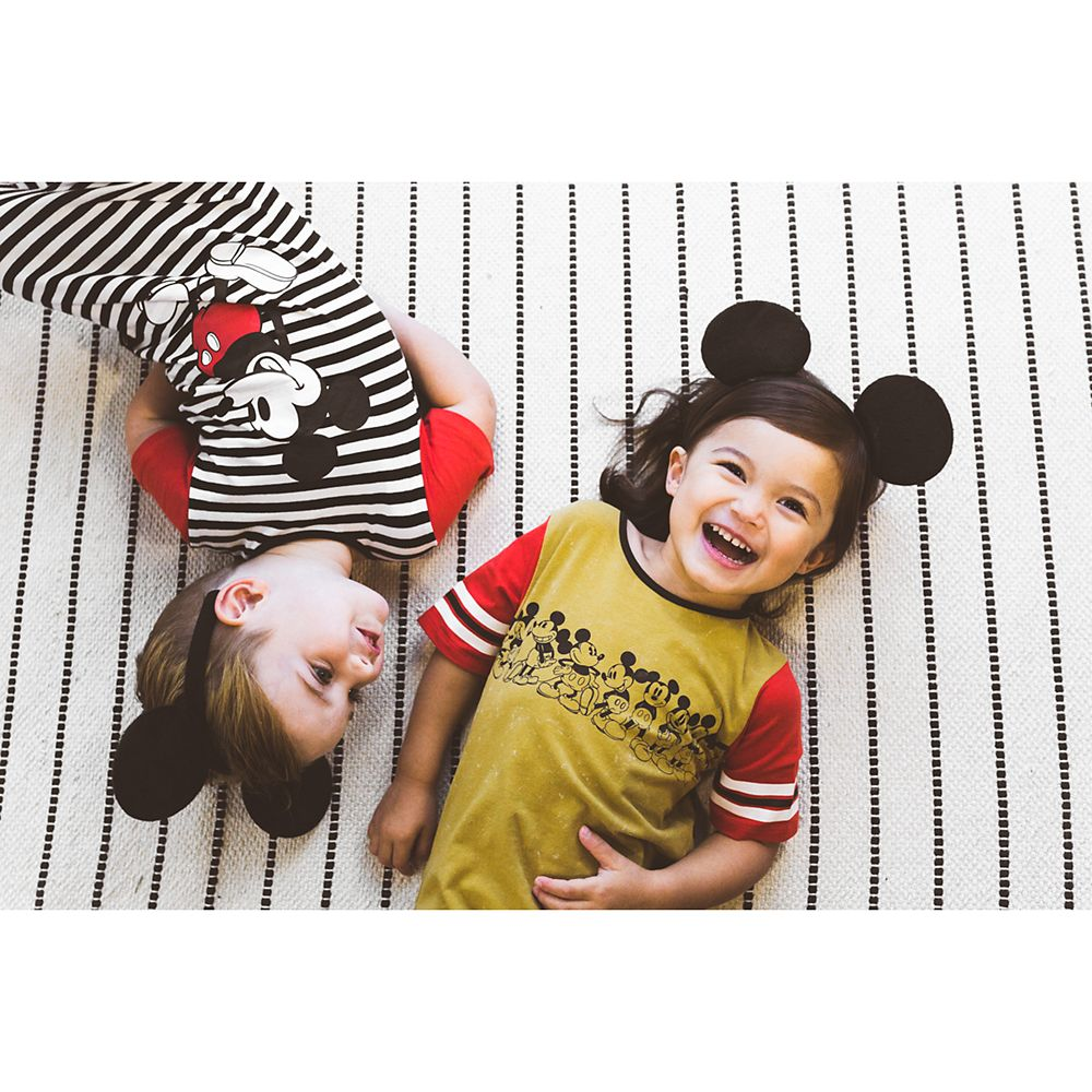Mickey Mouse Through the Years Romper for Baby and Kids by Rags