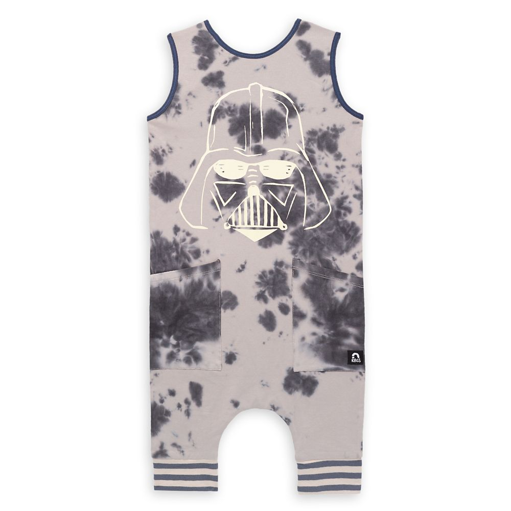Darth Vader Romper Tank for Baby and Toddler by Rags
