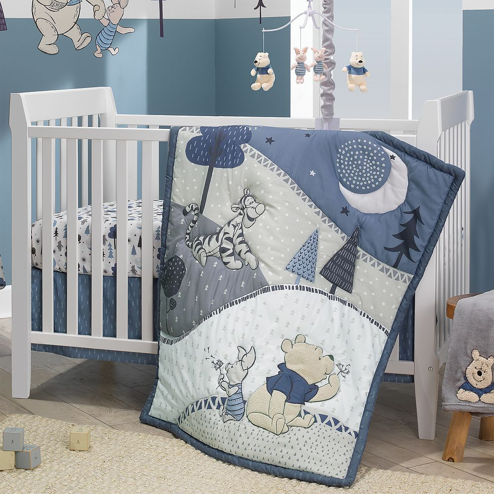 Winnie The Pooh Crib Bedding Set By Lambs Ivy