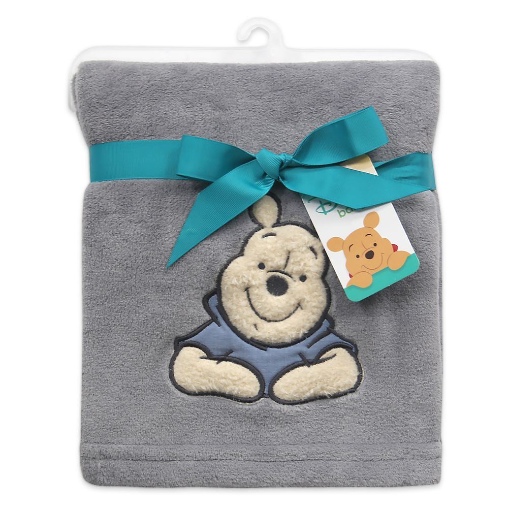 Winnie the Pooh Baby Blanket by Lambs & Ivy