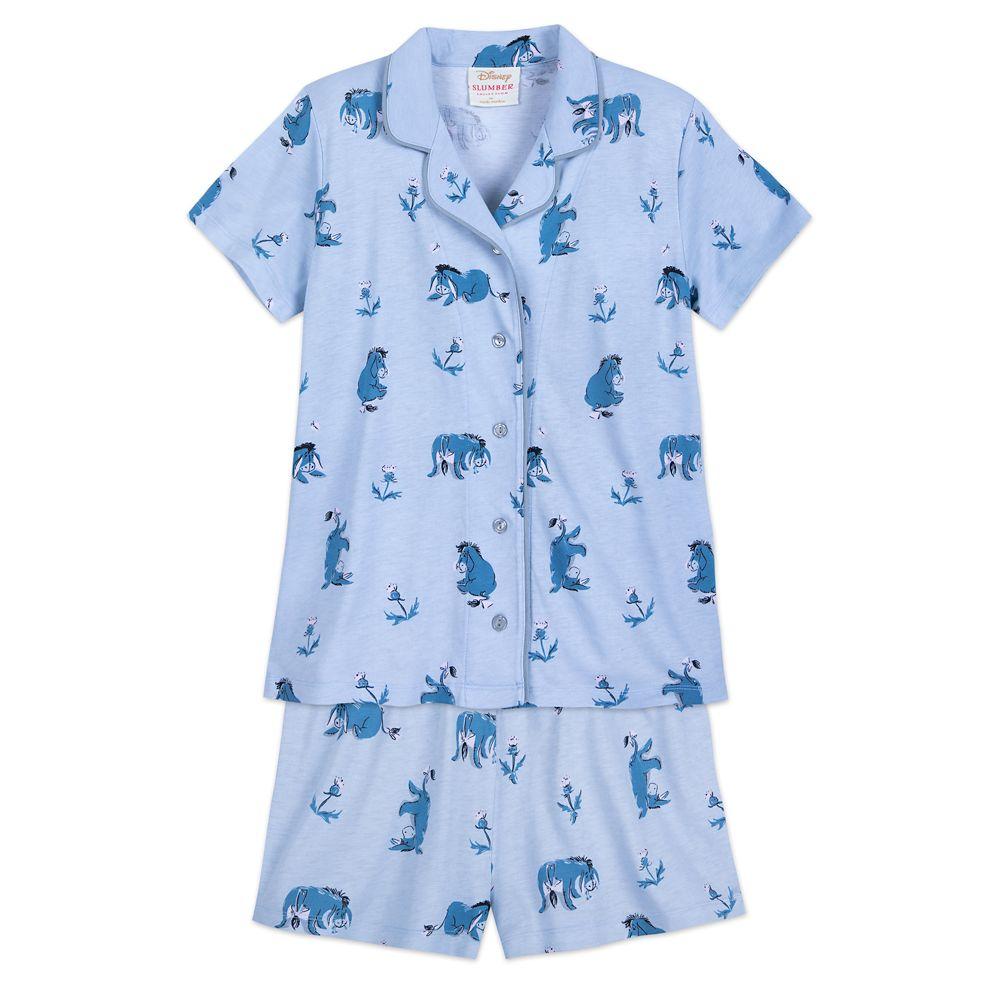 Eeyore Pajama Set for Women by Munki Munki