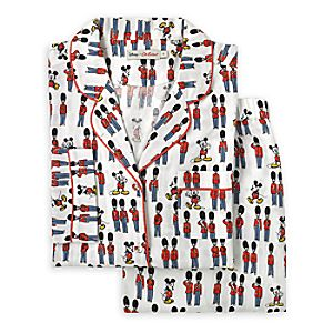 Mickey Mouse & London Guards PJ Set for Adults by Cath Kidston 3249058600785M