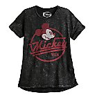 Mickey Mouse Vintage Emblem Tee for Juniors