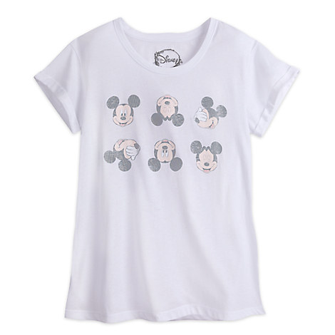Mickey Mouse Faded Tee for Juniors