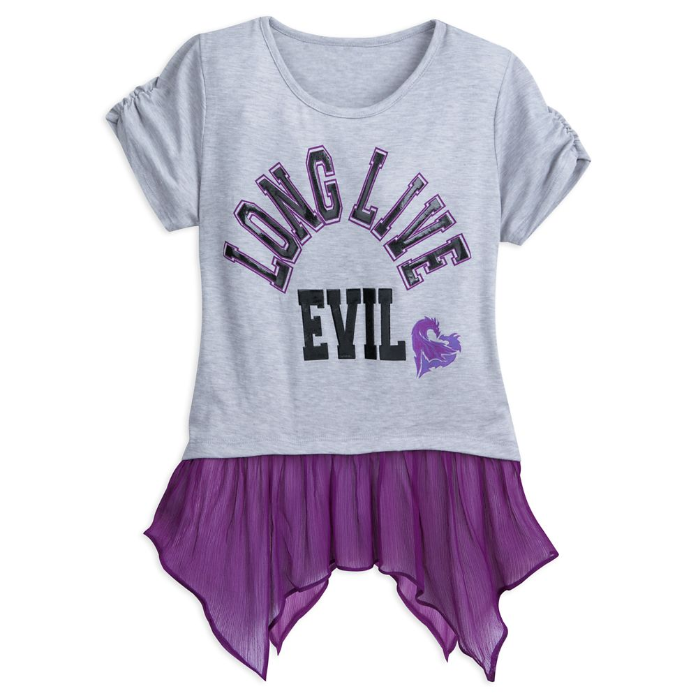 Descendants 2 ''Long Live Evil'' Top for Tweens