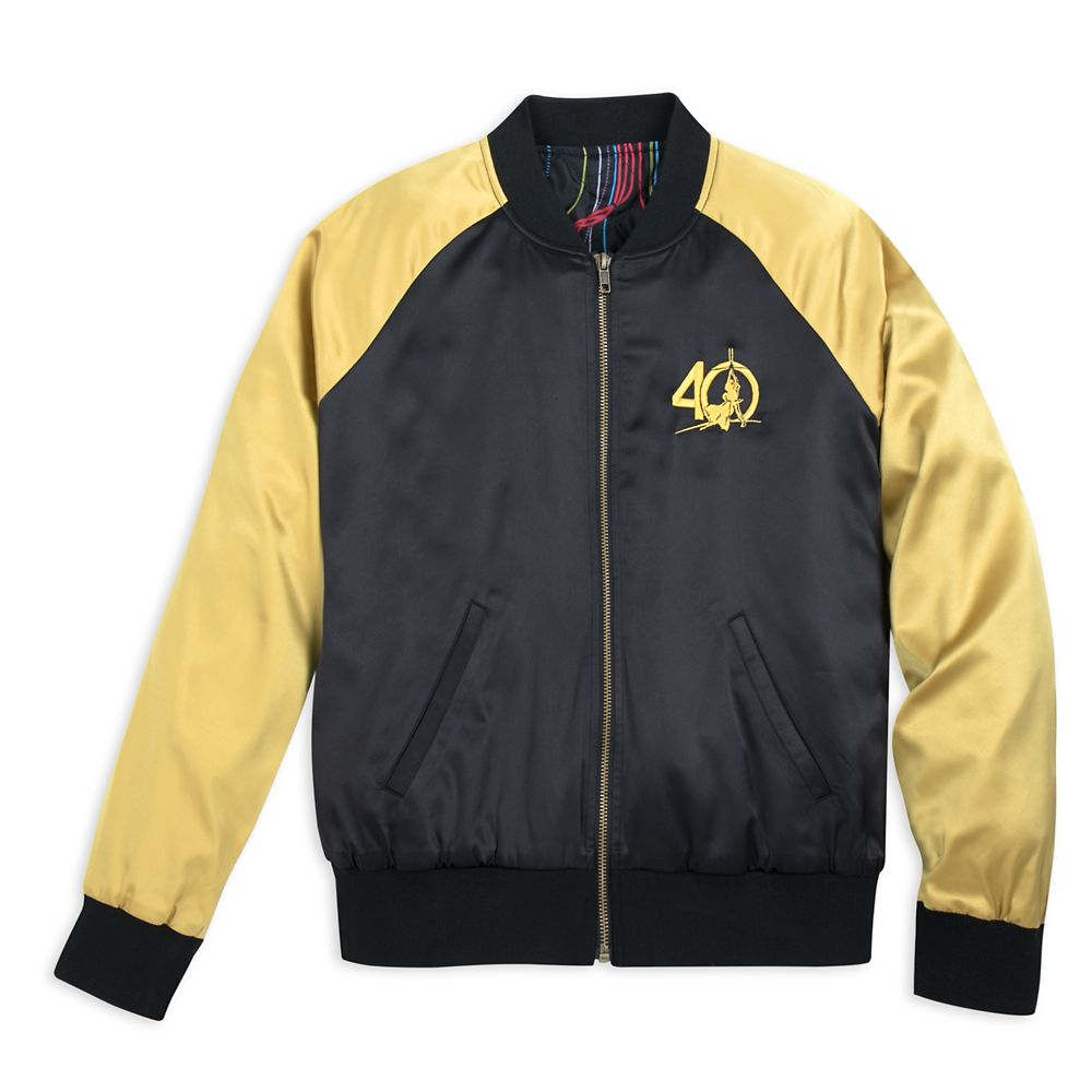 ec3ccd06 Star Wars 40th Anniversary Satin Varsity Jacket for Women by Her Universe