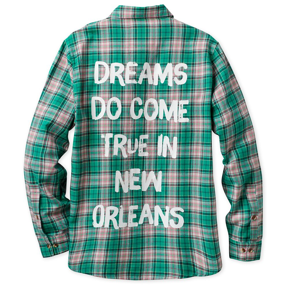 Tiana Flannel Shirt for Adults by Cakeworthy