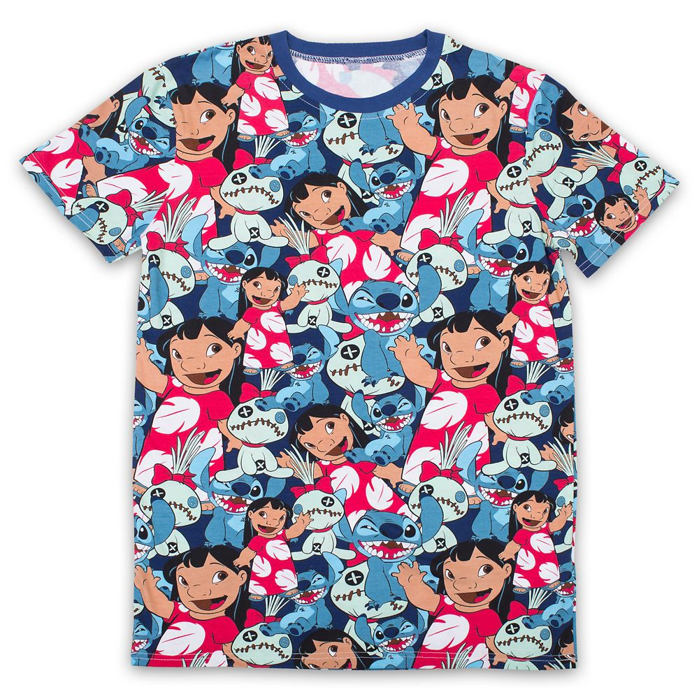 Lilo & Stitch T-Shirt for Adults by Cakeworthy