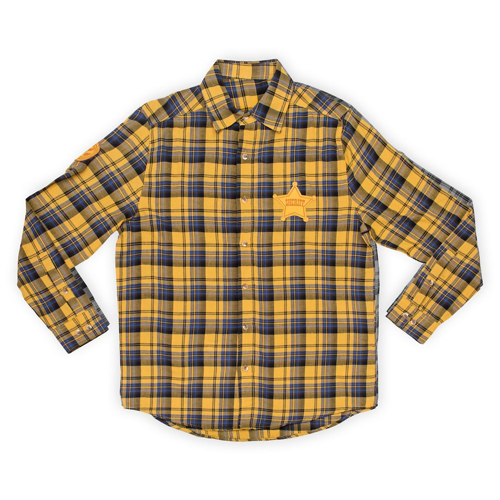 Woody Flannel Shirt for Adults by Cakeworthy – Toy Story 4