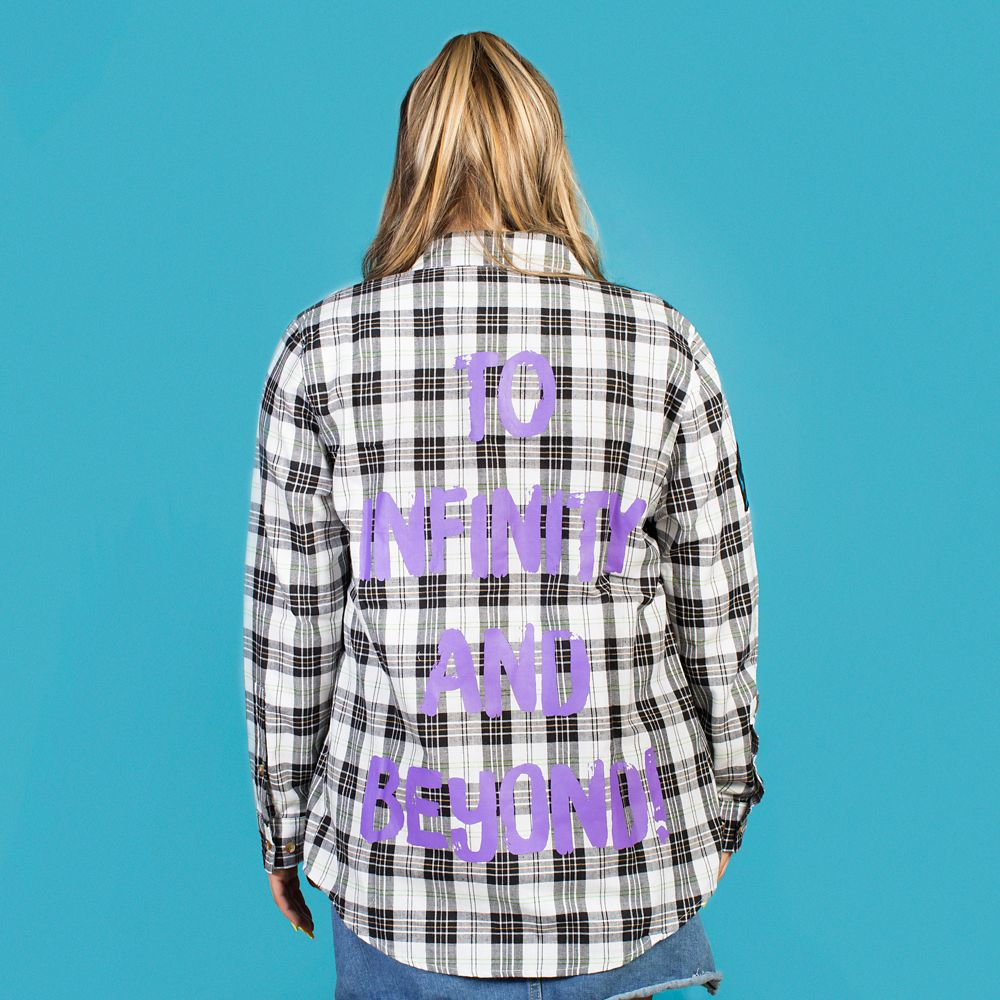 Buzz Lightyear Flannel Shirt for Adults by Cakeworthy – Toy Story 4