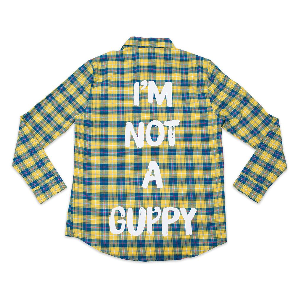 Flounder Flannel Shirt for Adults by Cakeworthy  The Little Mermaid Official shopDisney
