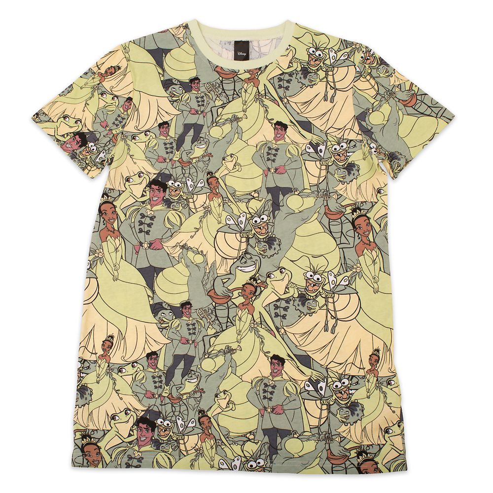 The Princess and the Frog T-Shirt for Adults by Cakeworthy