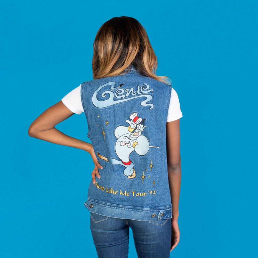 Genie Denim Vest for Adults by Cakeworthy – Aladdin