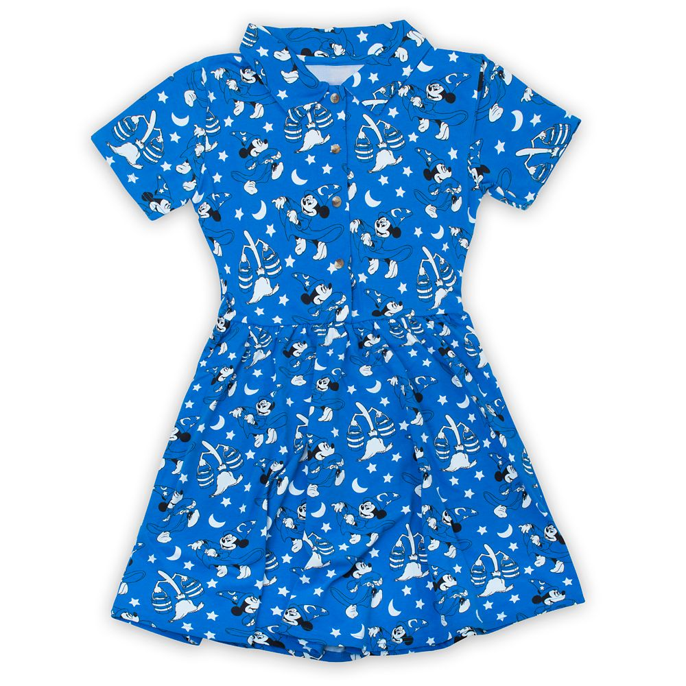 Sorcerer Mickey Mouse Dress Adults by Cakeworthy – Fantasia