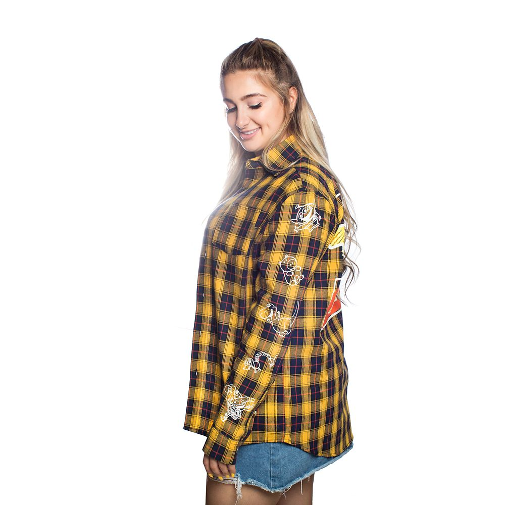 Toy Story Flannel Shirt for Adults by Cakeworthy