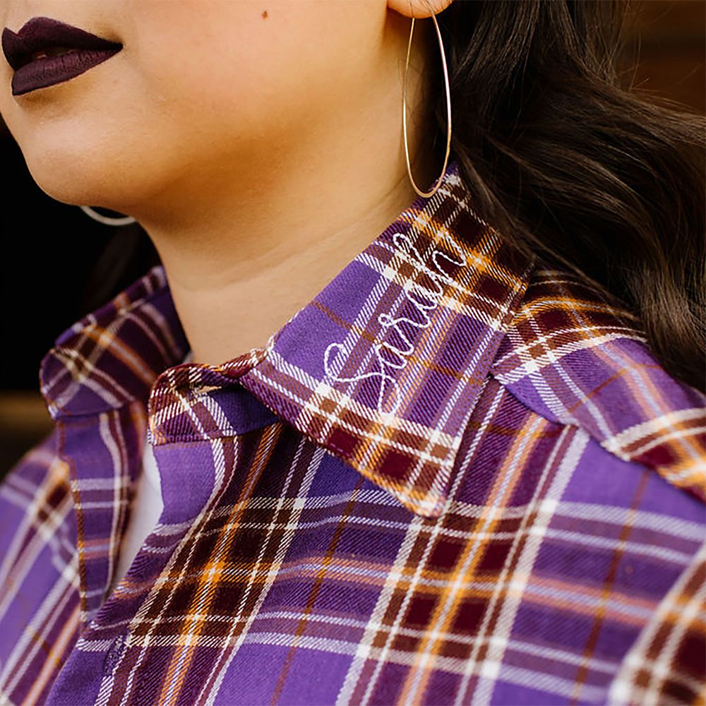 Hocus Pocus Flannel Shirt for Adults by Cakeworthy – Sarah