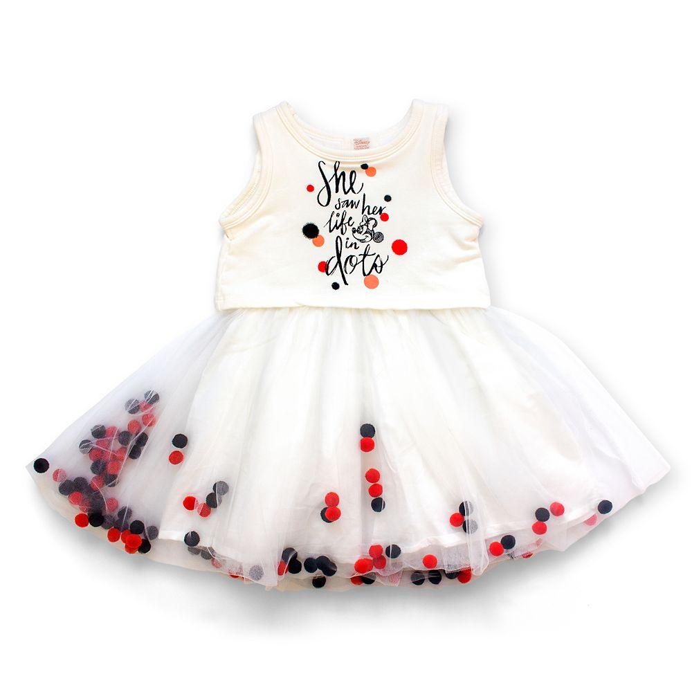 Minnie Mouse Pom-Pom Tutu Dress for Girls by Tutu Couture