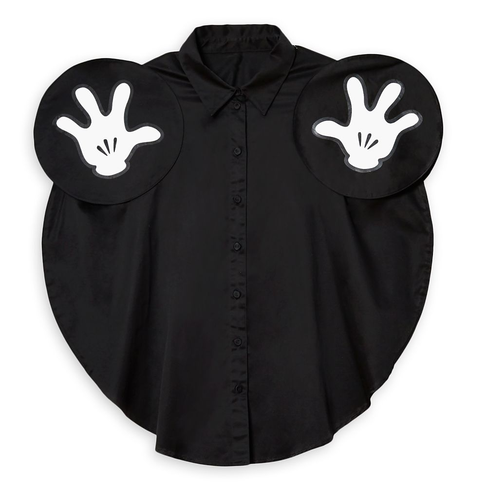 Mickey Mouse Button Front Shirt for Women by Opening Ceremony